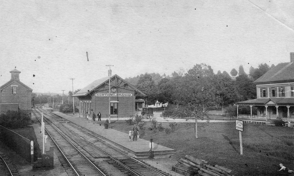 North Wilbraham Station Wilbraham Mass Lost New England