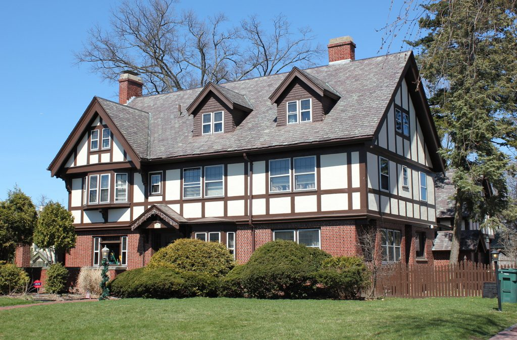 This elegant tudor revival house was built in 1912 for willis h sanburn a businessman who was originally from illinois he and is wife maud moved to