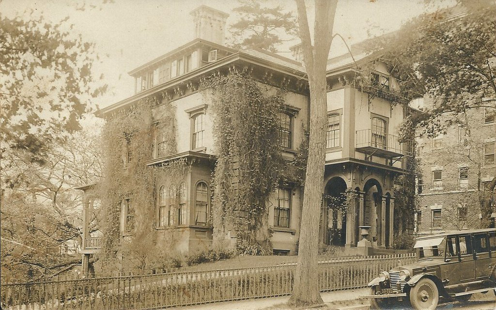 Samuel Bowles House Springfield Mass Lost New England