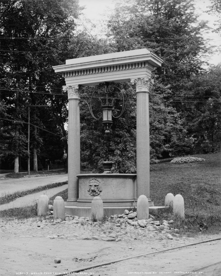 Wells Fountain Brattleboro, VT