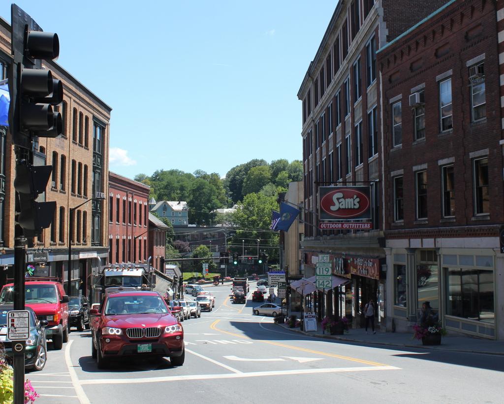 main street, brattleboro | brattleboro, vermont. december