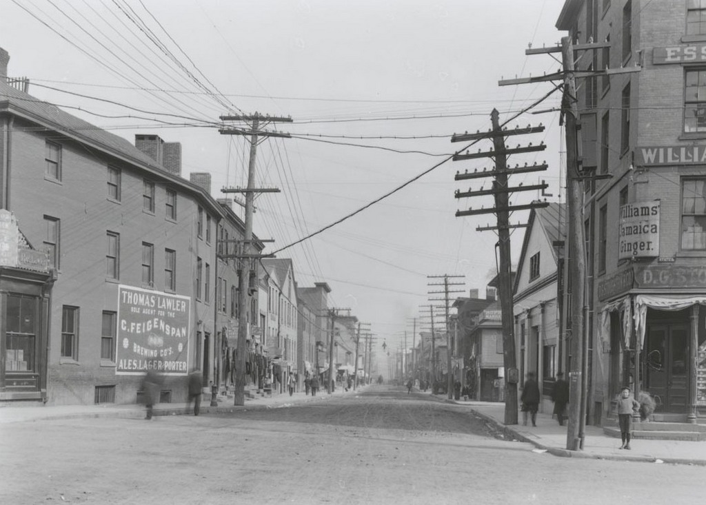 Front St. north of State