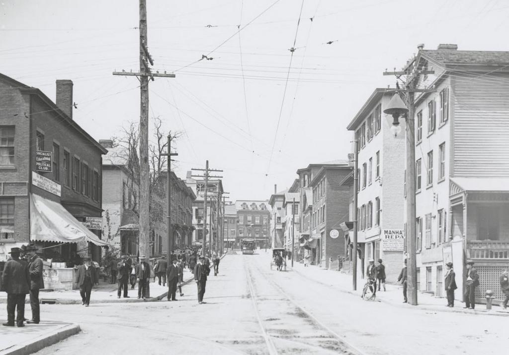 Morgan St. west of Market