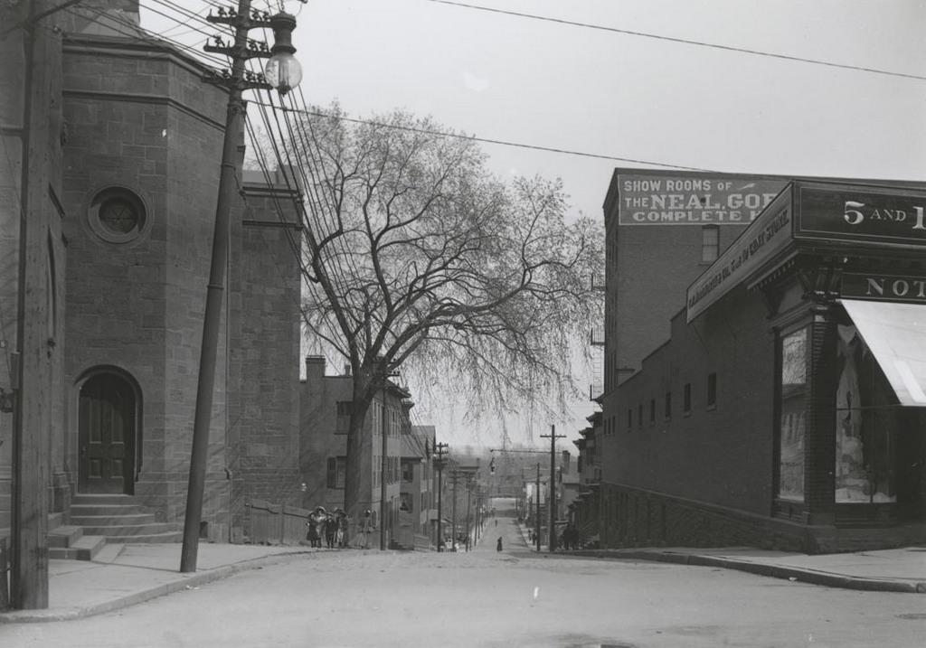 Talcott St. east of Main