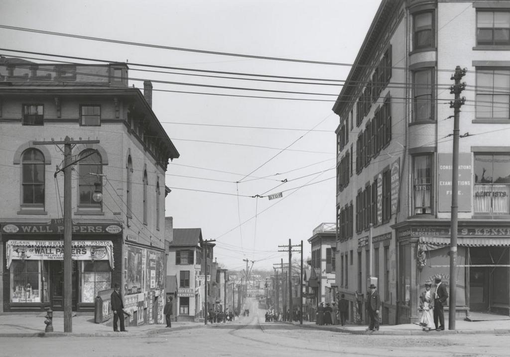 Morgan St. east of Main