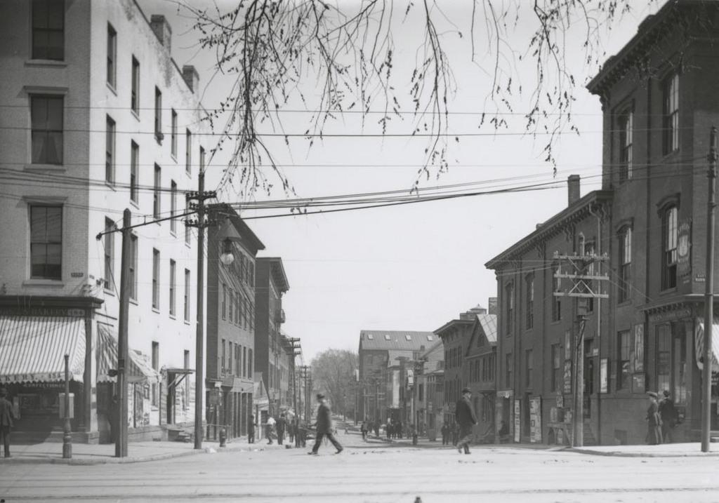 Sheldon St. east of Main
