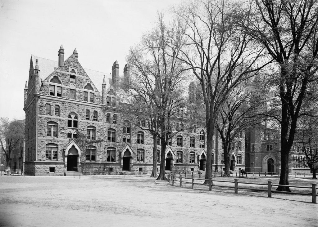 Durfee Hall New Haven Connecticut Lost New England