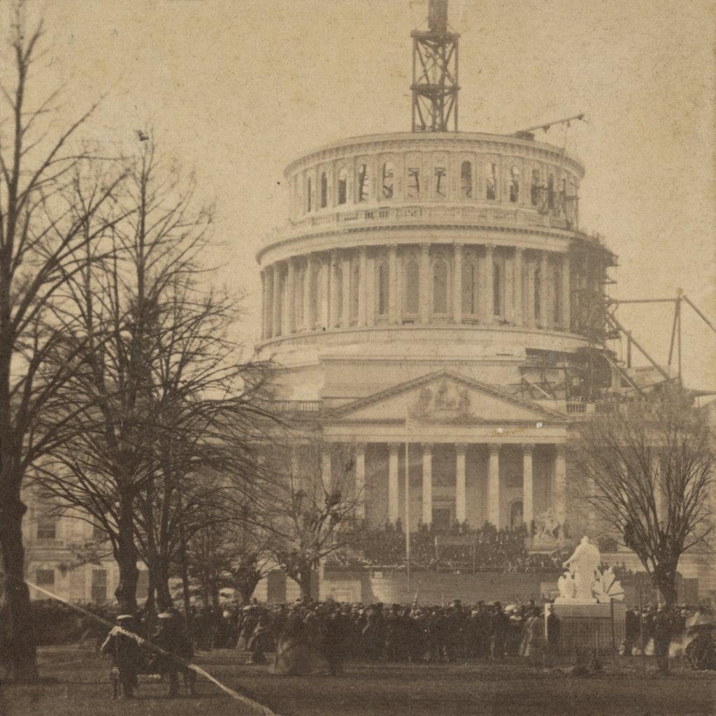 Inauguration of Abraham Lincoln, Washington, DC - Lost New ...