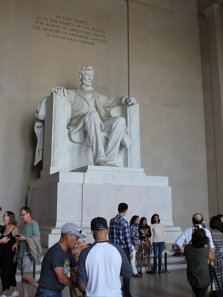 Abraham Lincoln Statue, Washington, DC - Lost New England